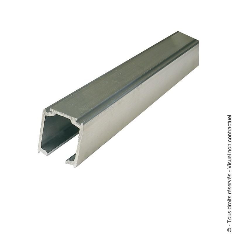 Contre-penture aluminium queue de carpe