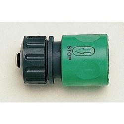 Raccord coupleur universel avec STOP pour tuyau 12, 15 ou 19 mm