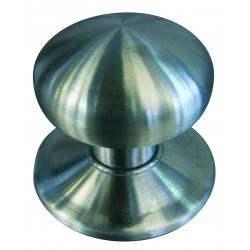 Bouton simple sur platine BOULE PLATE