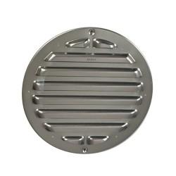 Grille de ventilation ronde aluminium