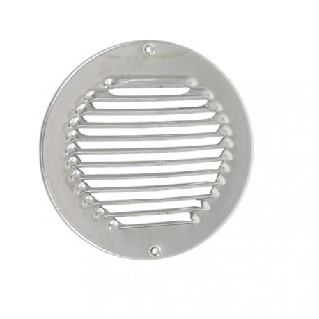 Grille de ventilation ronde inox A2